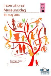 Plakat museumsdag 2014